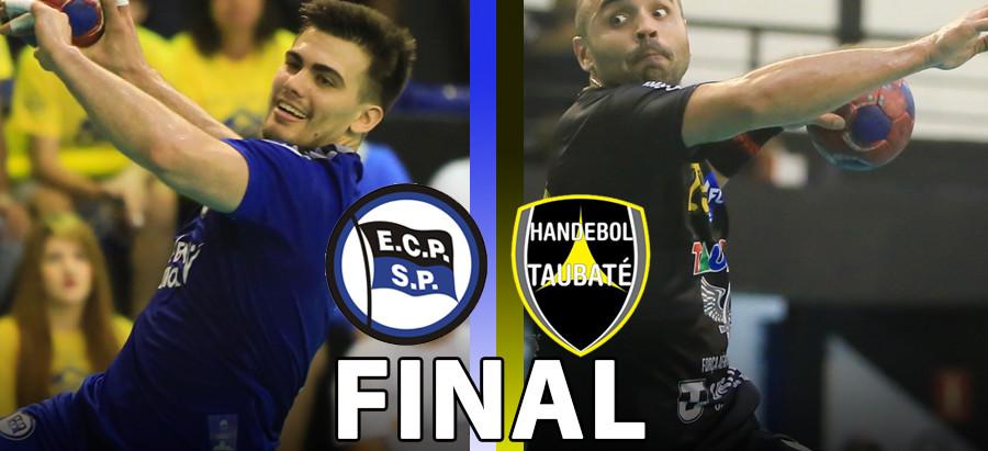 Taubaté (SP) e Pinheiros (SP) decidem o título da Liga Nacional Masculina de Handebol 2017