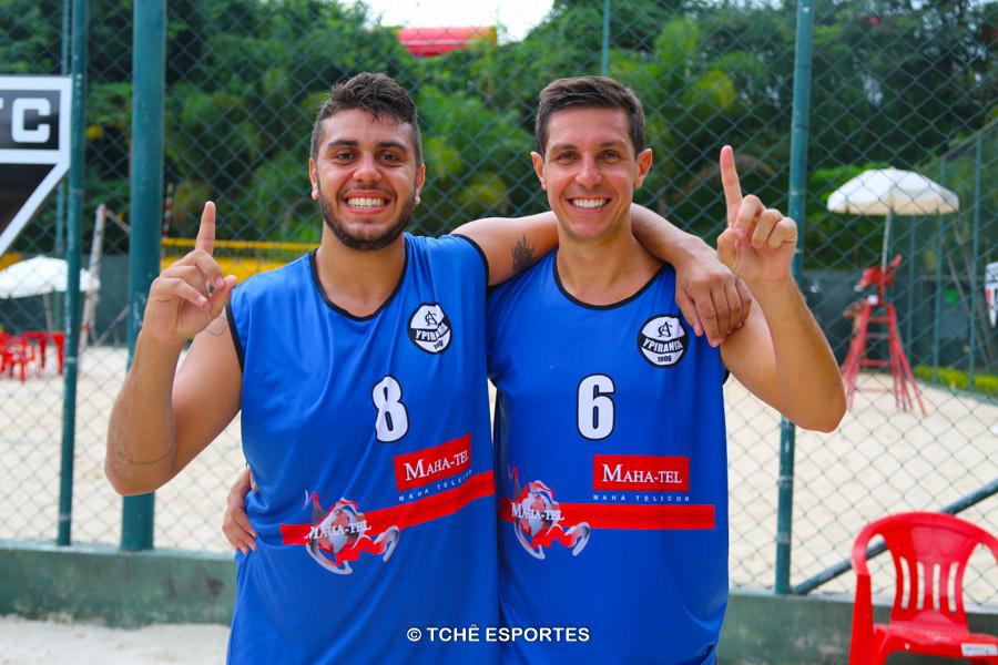 Pedrinho e Rodrigo Fabri, Campeões Prata 1ª etapa. (foto André Pereira / Tchê Esportes)