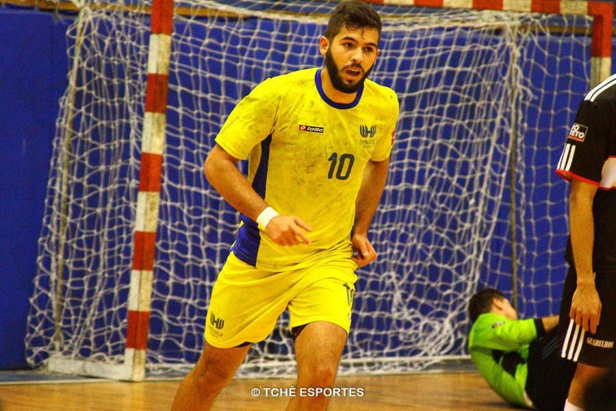 Wagner Alves, da Hebraica. (foto André Pereira / Tchê Esportes)