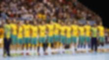 Seleção Brasileira de Handebol Masculino. (foto Cinara Piccolo / Photo&Grafia)