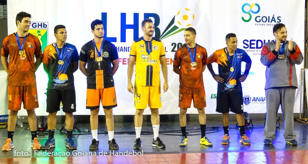 Seleção do Campeonato. (foto Federação Goiana de Handebol)