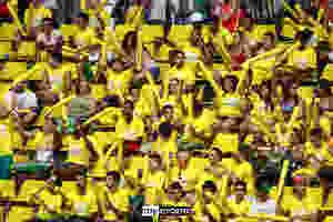 Torcida brasileira. (foto arquivo Tchê Esportes)