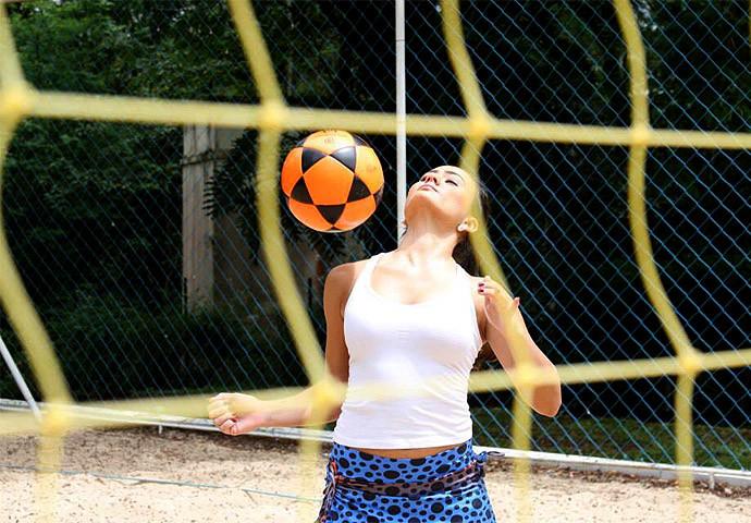 Julia Sousa, campeã mundial 3x3 em 2014. (foto arquivo pessoal)