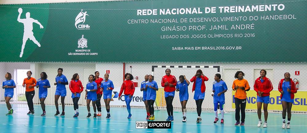 Seleção de Camarões. (foto André Pereira / Tchê Esportes)