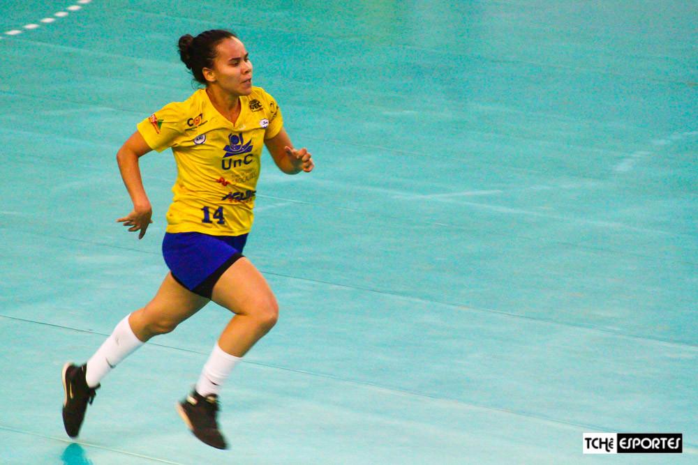 Agda Rafaela, do Concórdia (SC). (arquivo Tchê Esportes)