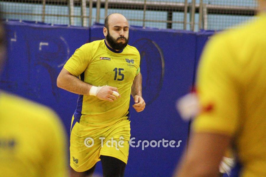 Felipe Carbone, capitão da Hebraica. (foto arquivo Tchê Esportes)