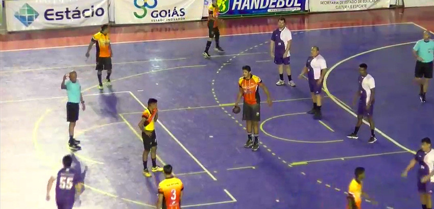Jogos do masculino encerram rodada da Conferência Centro-Oeste da Liga Nacional de Handebol