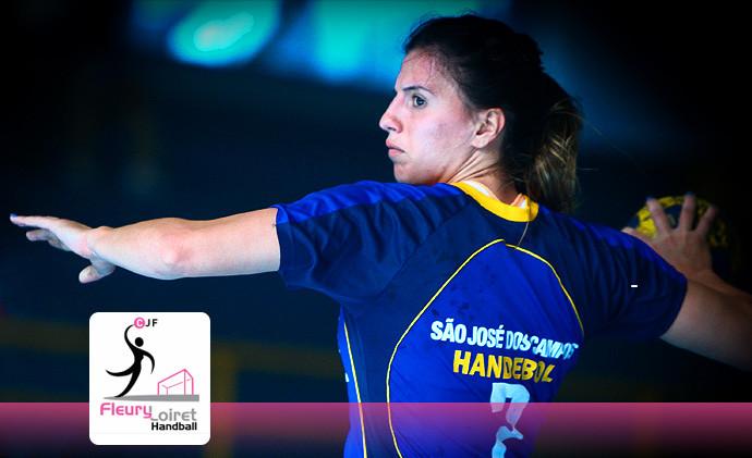 Jéssica vai jogar no Fleury Loiret, da França (foto arquivo Tchê Esportes)