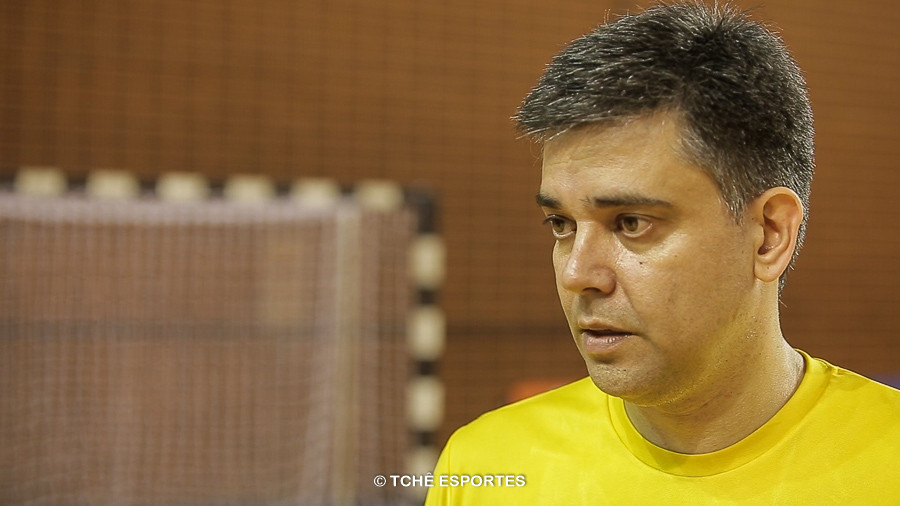Álvaro Herdeiro, Supervisor Seleção Juvenil Feminina. (foto arquivo Tchê Esportes)
