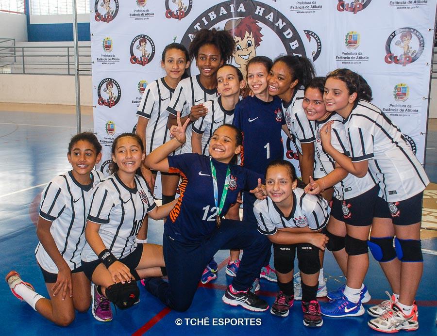 Campeã MIRIM / SC Corinthians Paulista. (foto Andréa Rodrigues / Tchê Esportes)