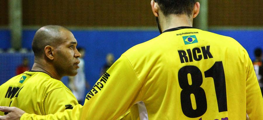 Handebol Taubaté empata por 22 a 22 com São Caetano Masculino