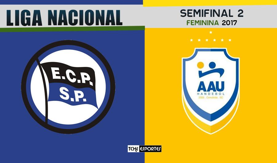 Semifinal 2 - EC Pinheiros (SP) vs Concórdia (SC)  (arte Tchê Esportes)