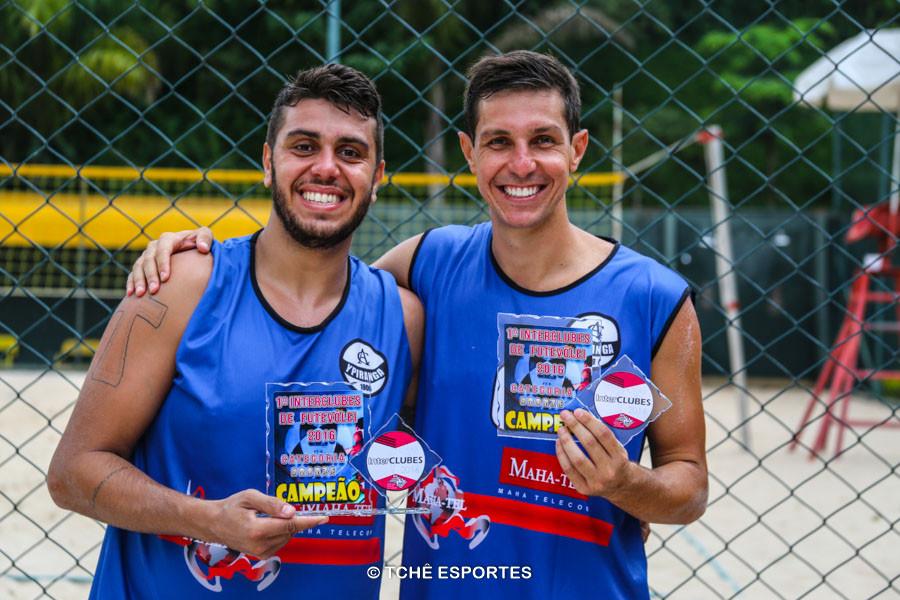 Murilo e Juliano, Clube Atlético Ypiranga, Campeões Bronze. (foto Andréa Rodrigues / Tchê Esportes)