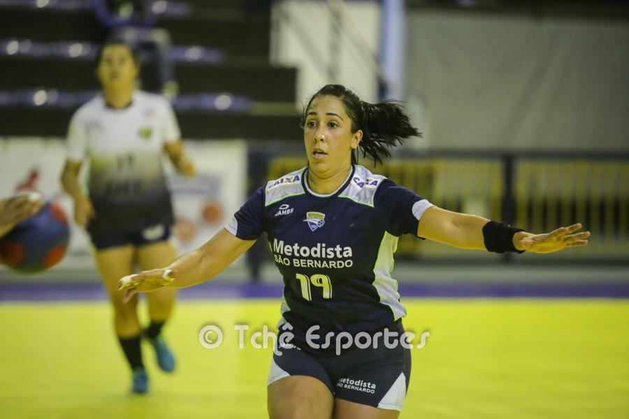 Livia Horácio, Metodista, destaque da partida. (foto André Pereira / Tchê Esportes)