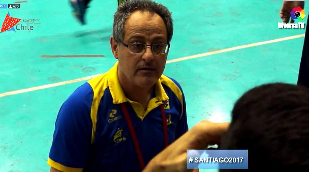 Washington Nunes, técnico da Seleção Brasileira Juvenil Masculina (foto arquivo)