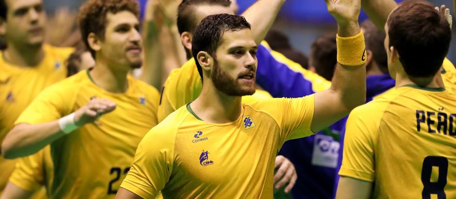 Seleção Masculina de Handebol estreia com vitória sobre Uruguai no Torneio Quatro Nações