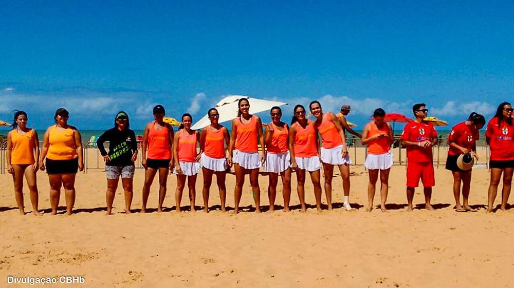 Circuito Brasileiro de Handebol de Areia (foto divulgação CBHb)