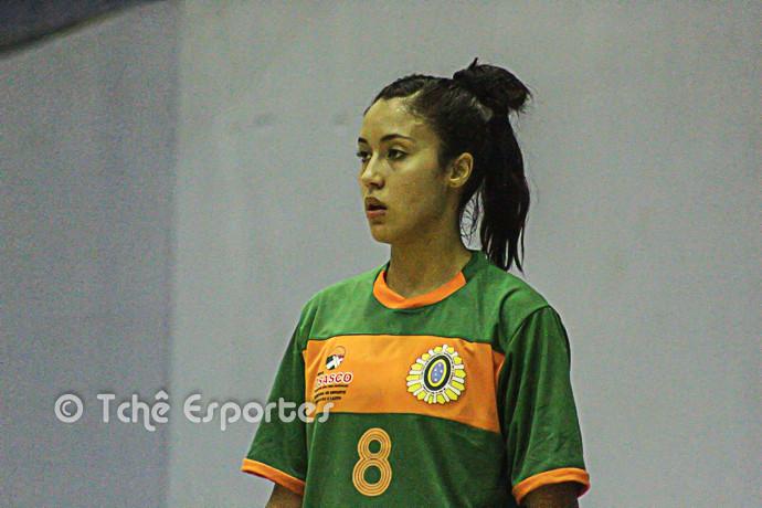 Ana Paula Alves, Osasco, artilheira do jogo (foto André Pereira / Tchê Esportes)