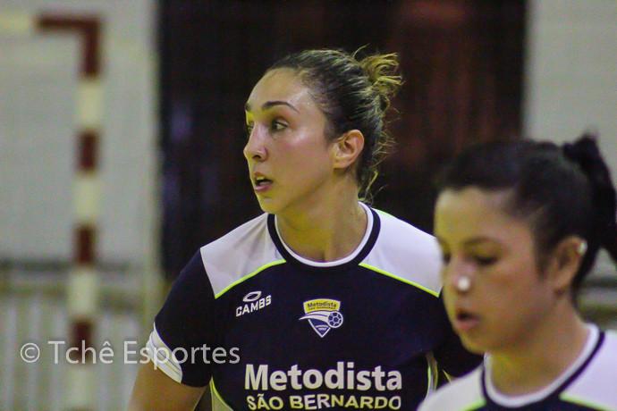 Tainara Gonçalves (Metodista), 7 gols (foto André Pereira/Tchê Esportes)