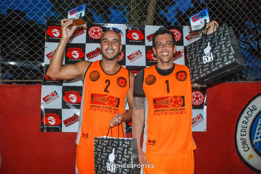 Devlin e R.Malla, Campeões 2ª etapa. (foto Andréa Rodrigues / Tchê Esportes)