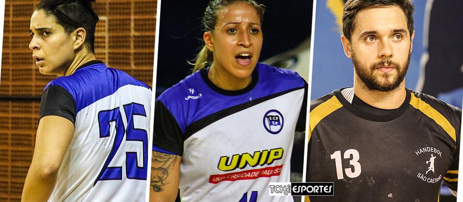 Pré-Temporada: Handebol Pinheiros se reforça com Dani Joia, Tamires Costa e Diogo Hubner