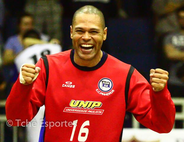 Marcão, goleiro do EC Pinheiros (foto arquivo Tchê Esportes)