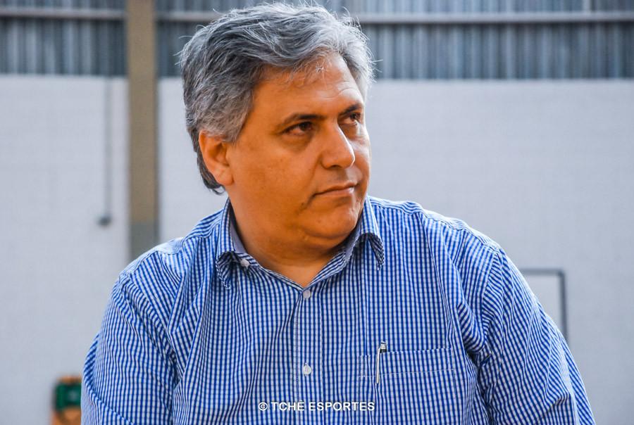 Celso Gabriel, presidente da FPHb (foto arquivo Tchê Esportes)