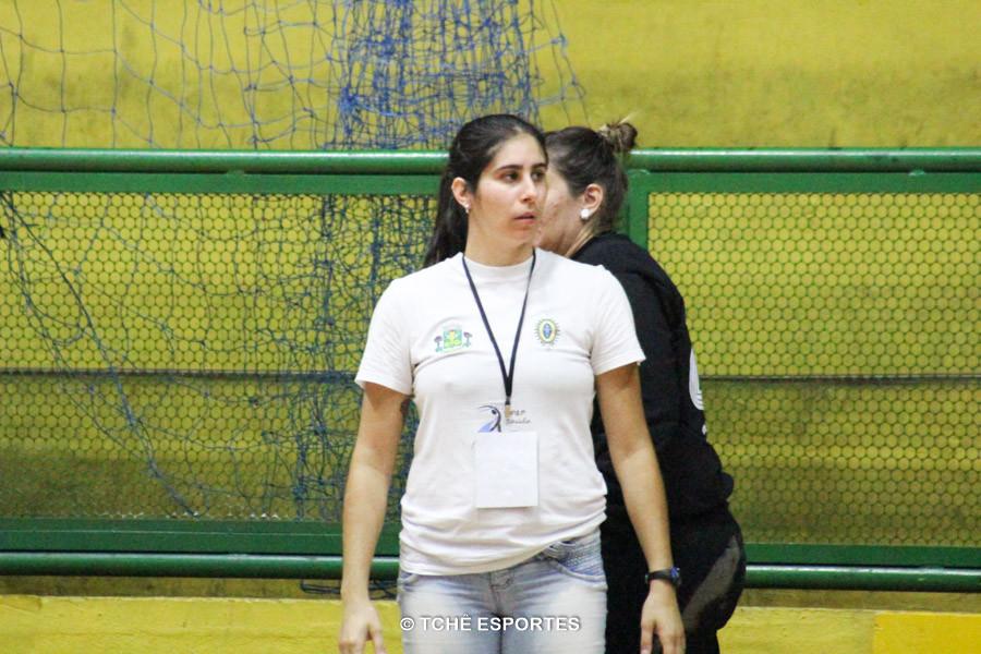 Renata Hernandes, Técnica de Osasco. Foto: André Pereira / Tchê Esportes