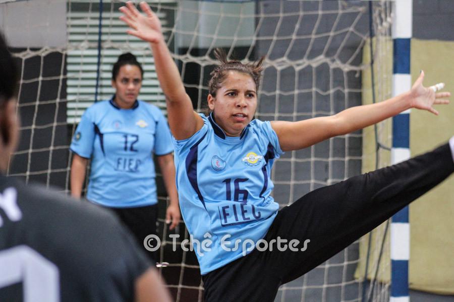Jamylle Junqueira, goleira da ACH. (foto arquivo Tchê Esportes)