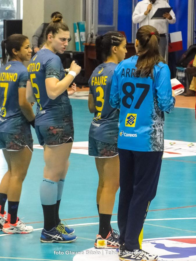 Gabriela Bitolo (5), 12 gols na competição. (foto Glauce Bitolo / Tchê Esportes)