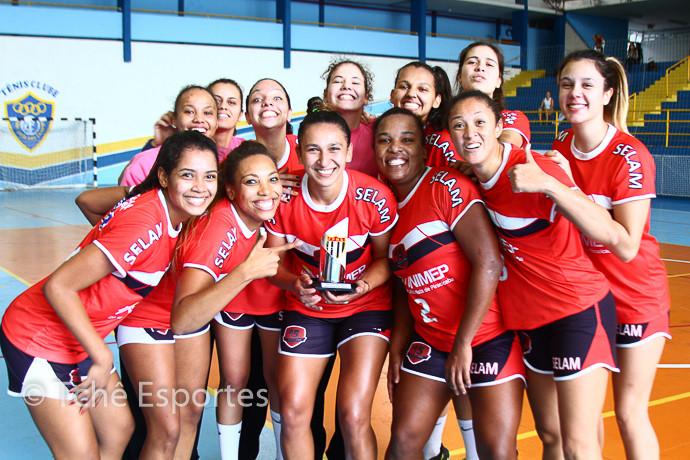 equipe do 15 de Piracicaba em 2014 (foto arquivo Tchê Esportes)