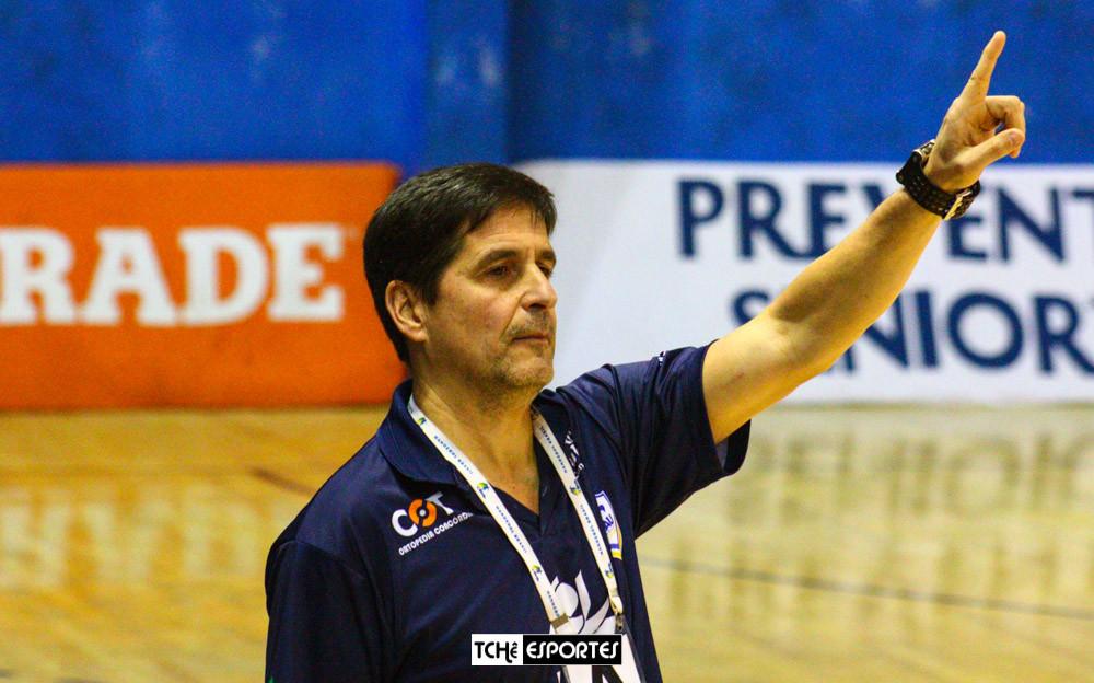 Alexandre Schneider, técnico do Concórdia (SC). (arquivo Tchê Esportes)