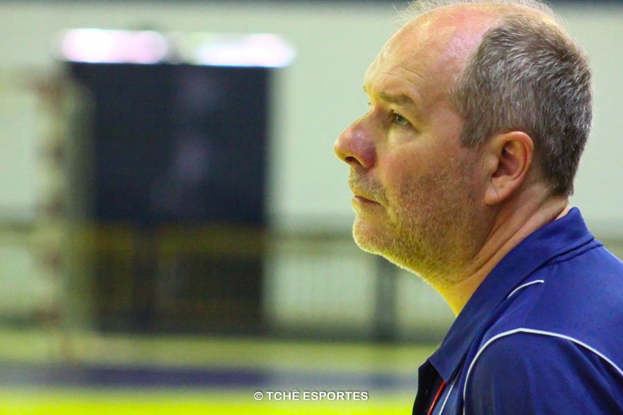 Eduardo Carlone, técnico da Metodista. (foto André Pereira / Tchê Esportes)