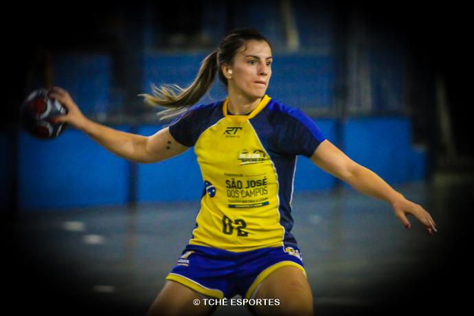 Jéssica Dias. (foto arquivo Tchê Esportes)