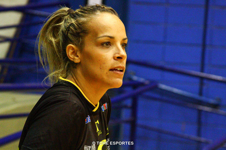 Gabriela Beraldo, do Taubaté. (foto arquivo Tchê Esportes)