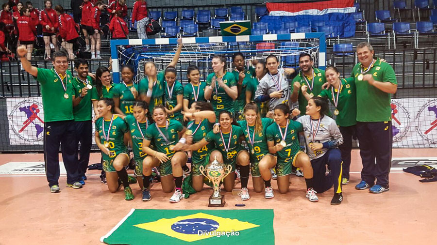 Seleção Brasileira Juvenil Campeã do Pan 2016. (foto Divulgação)