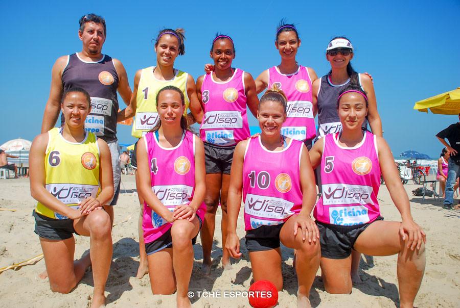 Equipe 360º nas Areias. (foto arquivo Tchê Esportes)