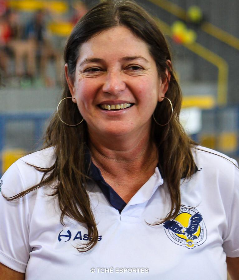 Jaqueline Oliveira, técnica da ACH. (foto arquivo Tchê Esportes)