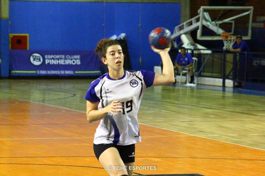 Destaque da Partida: Gabriela Pessoa, Pinheiros. Foto: André Pereira / Tchê Esportes