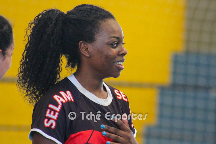 Jennifer Melo, 15 de Piracicaba, Destaque do Jogo. (foto arquivo Tchê Esportes)