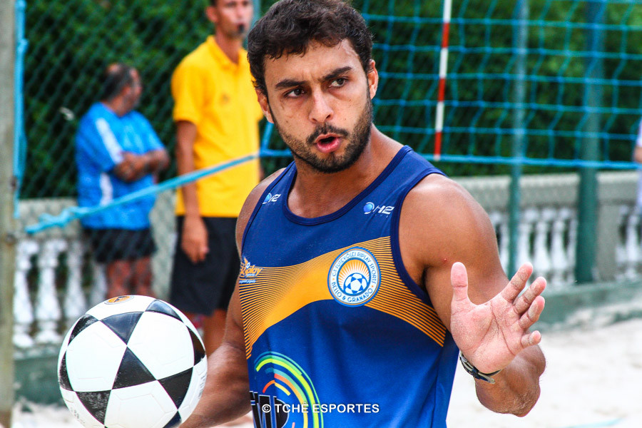 Pantaneiro, atleta da Riplay Sports. (foto André Pereira / Tchê Esportes)