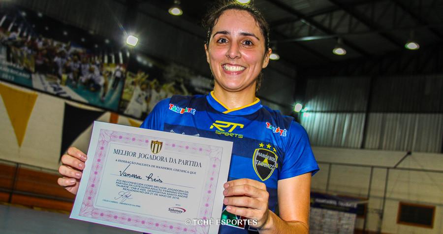 Vanessa Reis, do Taubaté. (foto André Pereira / Tchê Esportes)