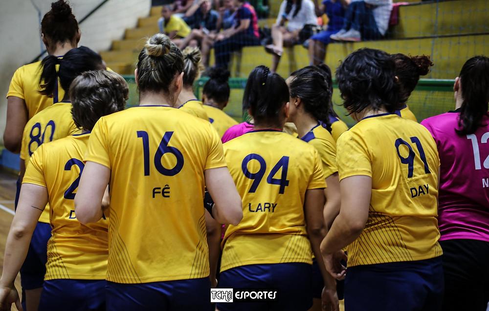 Equipe do Santo André. (foto arquivoTchê Esportes)