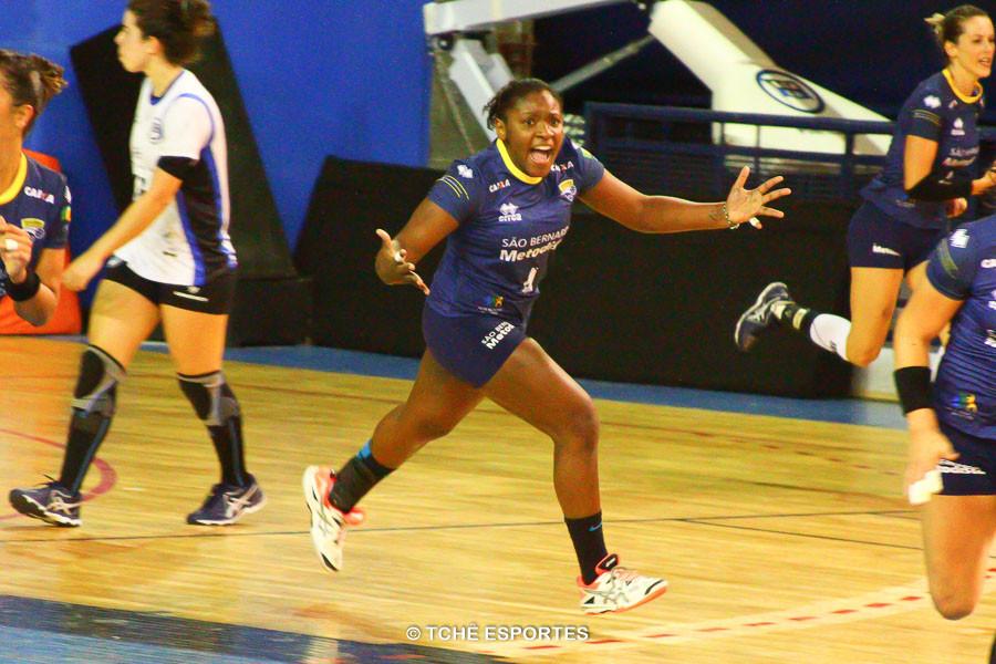 Mariane Fernandes, São Bernardo.  (foto André Pereira / Tchê Esportes)