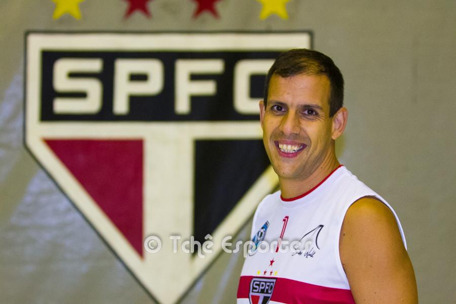 Marcão, Futevôlei SPFC. (foto André Pereira / Tchê Esportes)
