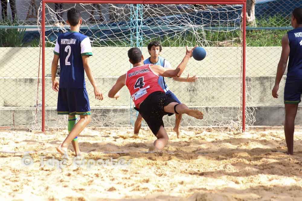 Salto na Areia vence Inter Hand (foto André Pereira / Tchê Esportes)