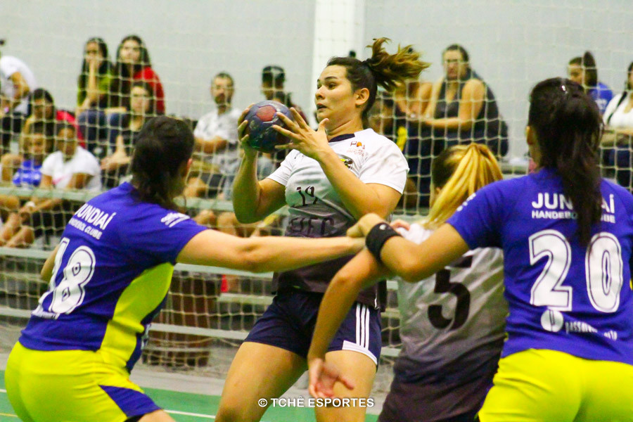 Jundiaí vence ACH. (foto André Pereira / Tchê Esportes)