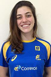 Gabriela Bitolo, artilheira da Seleção Brasileira. (foto Divulgação)