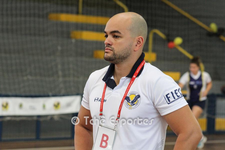 Marcelo Vitorino, preparador físico da ACH. (foto arquivo Tchê Esportes)