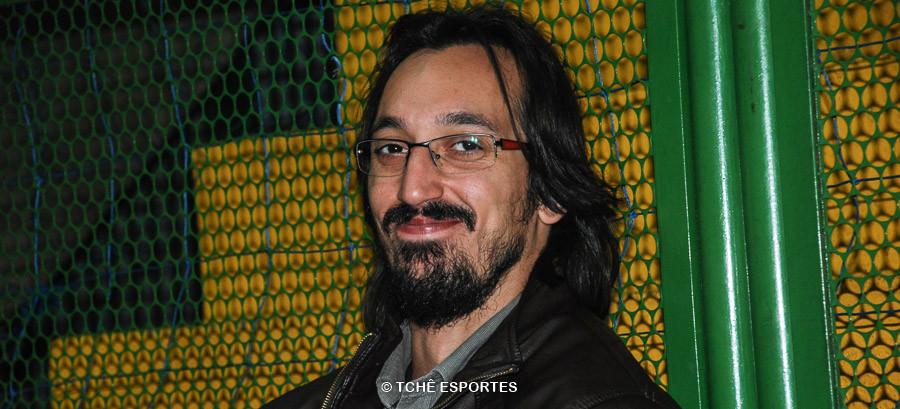 Jayson Correia, armador da equipe da Metodista. (foto Anderson Pereira / Tchê Esportes)